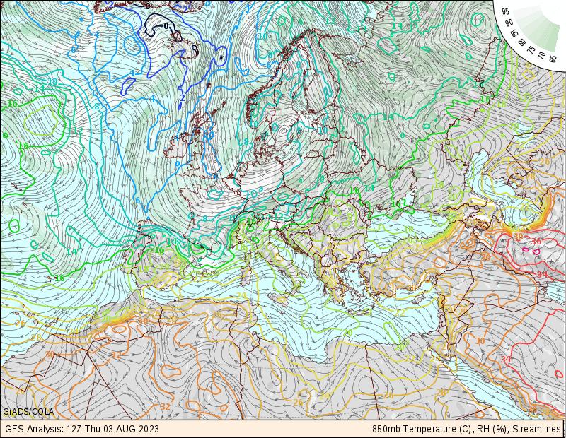 Monitor 6 - Temperatura e umidade relativa do ar e vento - EUROPA